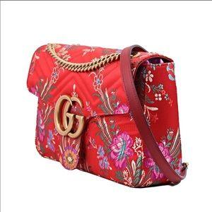 64a48b1ba649 Gucci Bags | Gg Marmont Medium Jacquardleather Bag | Poshmark